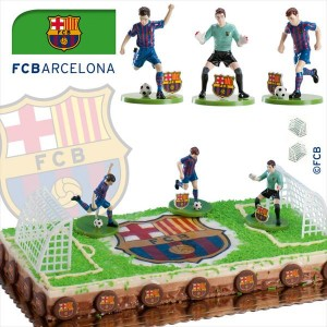 Kit tarta decoración Barça