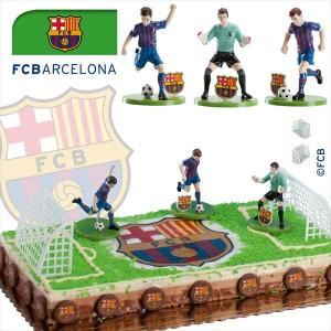 Kit tarta decoración Barça