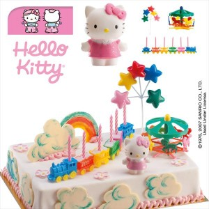 Kit tarta Hello Kitty