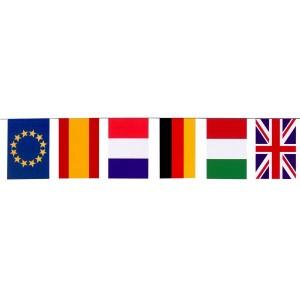 Bandera plástico internacional