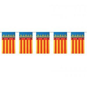 Bandera plástico Comunidad Valenciana
