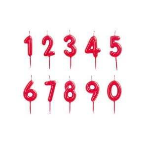 Vela roja número