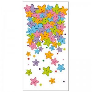 Bolsa plástico estrellas