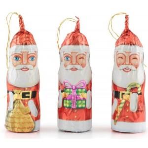 Papa Noel de chocolate